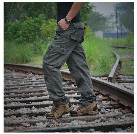 Brand New Men Casual Pockets Baggy Cargo Pants