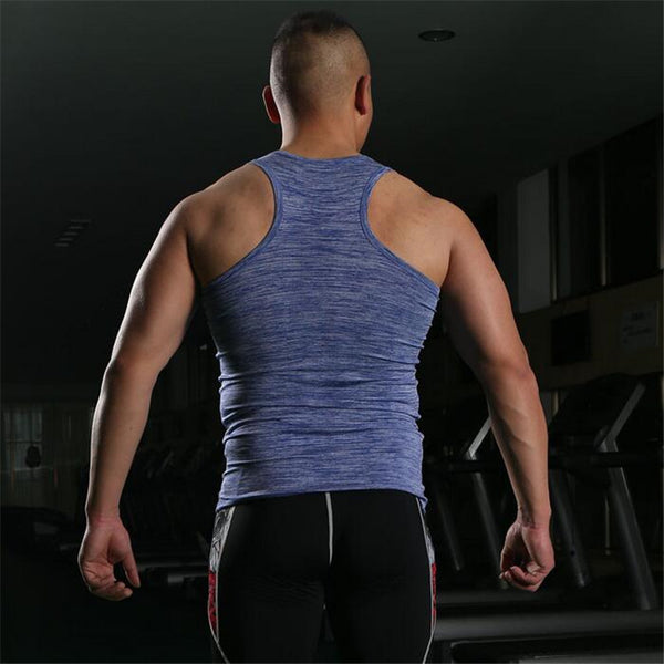 Tank Top Men Bodybuilding Fitness Mens Sleeveless Shirt Vests Cotton