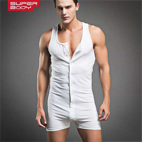 Man Bodywear Bodybuilding Cotton Man Tank Top Singlets