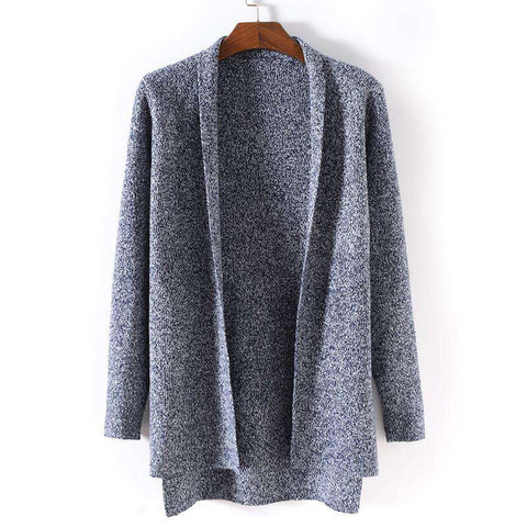 Men long Sweater Cardigan Casual