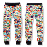 Men's Pants Sweatpants Dance Jogger Baggy Trousers