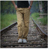 Men Cargo Joggers Pants Military Outdoors Tactical Trousers