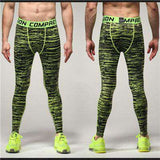 Compression Tights Pants Men Joggers Slim Fit
