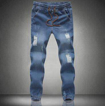Men Ripped Jeans Slim Fit