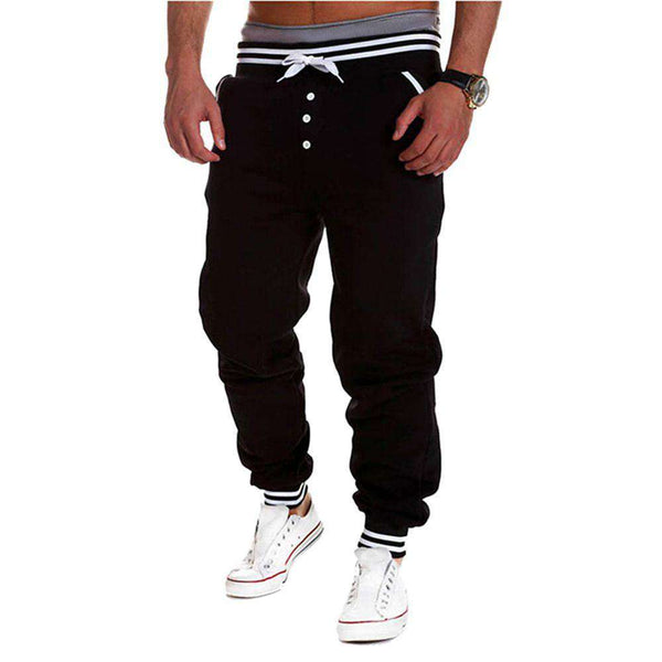 Men's Slacks Trousers Baggy Jogger Dance Sport Harem