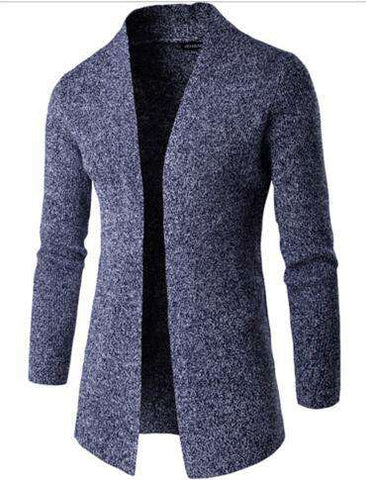 Coat Men Stand Up Collar Sweater Brand Casual