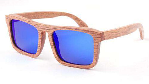 Handmade Natural Wood Sunglasses Polarized Lens Unisex