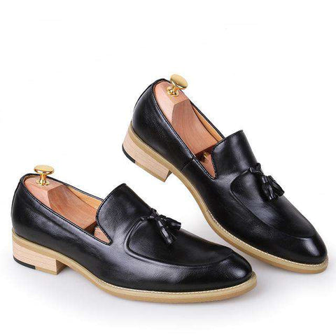 Official Tassel Loafers Footwear Moccasin Luxury Brand Ballet Flats For Men