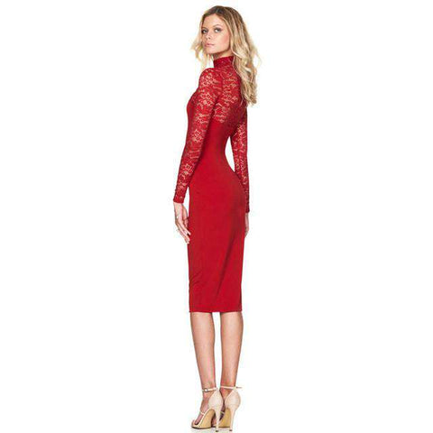 282aedcb5d14f Sexy Women's Lace Dress | Pretty Lace Dress for Women – Offer Factor