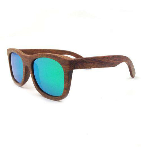 Wooden Sunglasses Big Frame UV400 Polarized Lens Unisex
