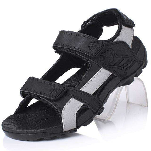 Men's Non Slip Casual Synthetic Sandals Black