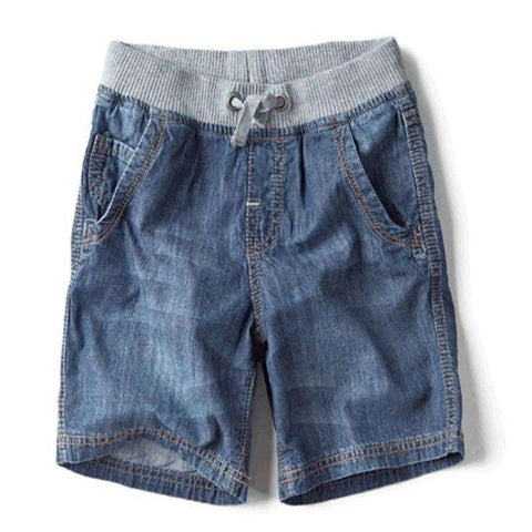 Casual Kids Summer Denim Shorts