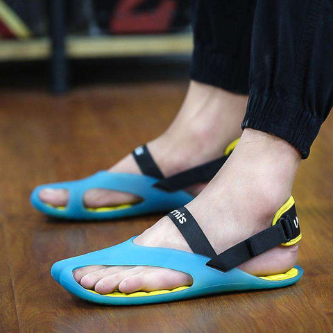 Men's Ultralight Blue Jelly Casual Sandals