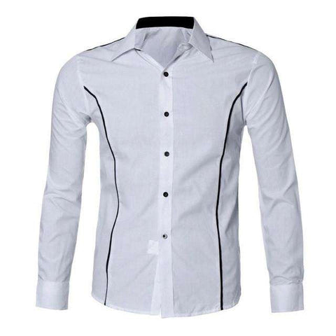 Luxury Men's Fit Casual Long Sleeve Shirt