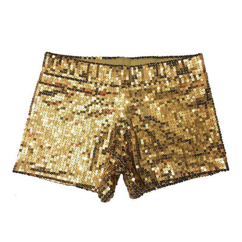 Sexy Sequin Shorts High Waist