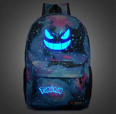 Men's Backpack Pokemon Gengar Backpack