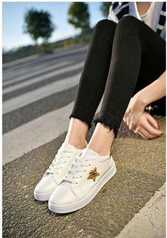woman fashion casual designer breathable shoes