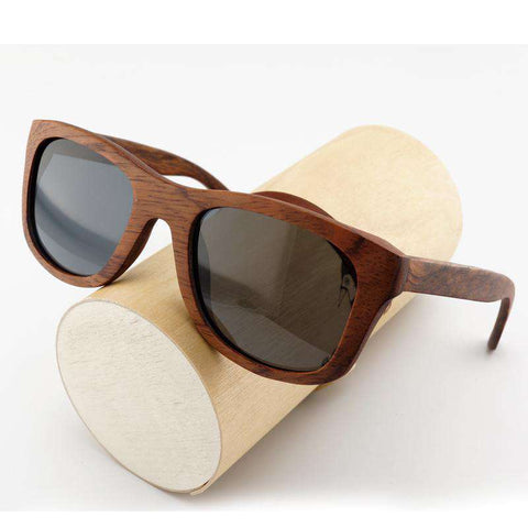 Handmade Sandalwood Sunglasses Polarized Lens Unisex For Men