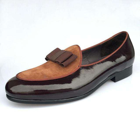 Brown Banquet Leather Loafers