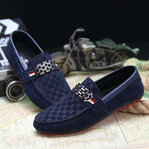 Casual Men Shoes Loafers Breathable Comfort Casual Flat Moccasin