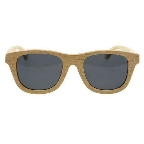 Casual Sunglasses Wooden Frame PC Lens UV400 Protective Unisex