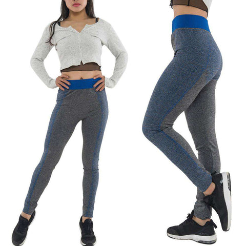 High Waist Stretchable Running Cropped Yoga Tights