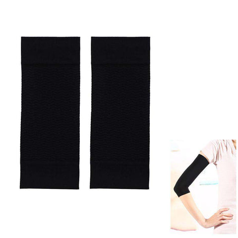 1Pair Slim Body Thin Arms Fat Burning Stovepipe Arm Shapers Black