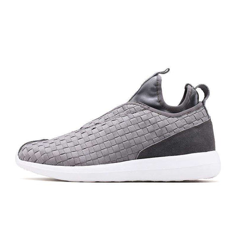 Men's Breathable Air Mesh Walking Sports Sneakers Grey