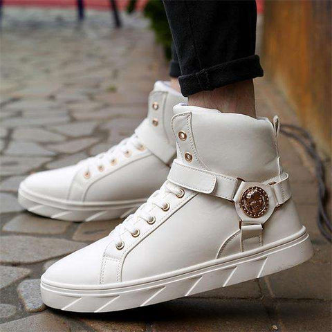 Men 's High -Top In The Fall Trend Casual Shoes