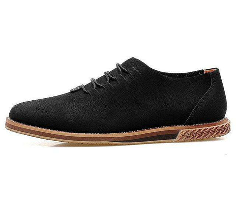 Genuine Leather Breathable Lace-up Handmade Flats For Men