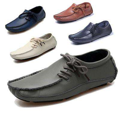 Men's Breathable Slip On Leather Loafers