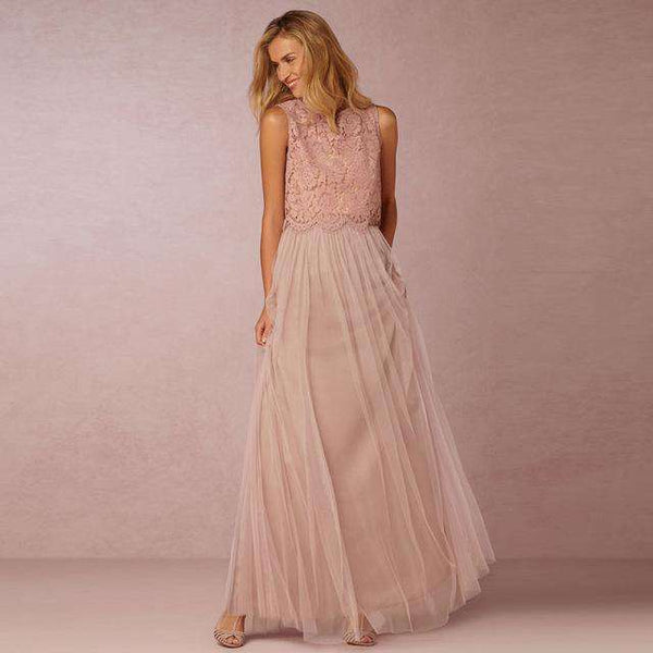 3 Layers Soft Tulle Tutu A Line Skirt Beige