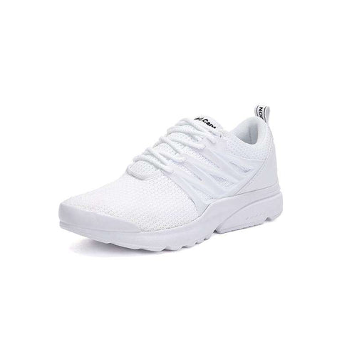 Beach Running Lace Up White Sneakers Unisex