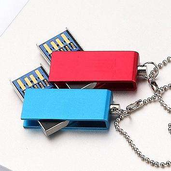 Waterproof USB 3.0 Mini Usb Flash Drive 1TB 2TB Memory Stick Creativo Key Disk Gift Pen Drive 3.0 32GB Flash Card 64GB