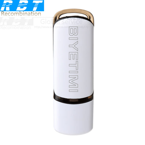 USB Flash Drive White And Gold Real Capacity 8GB ,16GB, 32GB Memory Usb Stick 2.0 Pen Drive For PC