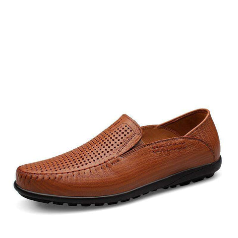 Genuine Leather Casual Shoes Loafers Men's Shoes Flats Zapatillas