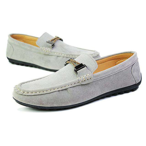 Casual Classic Boat Driving Slip-On Shoes Men Loafers Non-Slip Flat Shoe