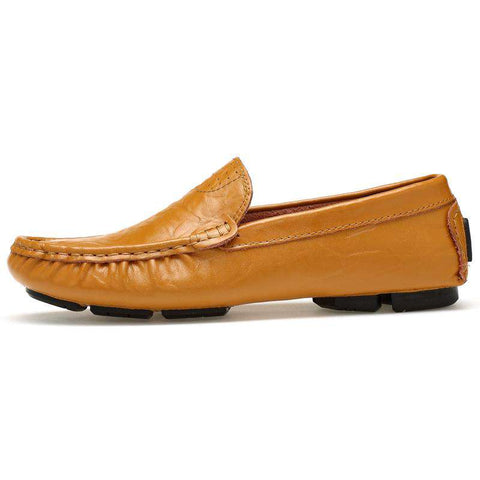 Men's Leather Casual Driving Shoes Loafers Moccasins