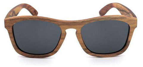 Men Wooden Multi-Layer Polarized Lens Sunglasses