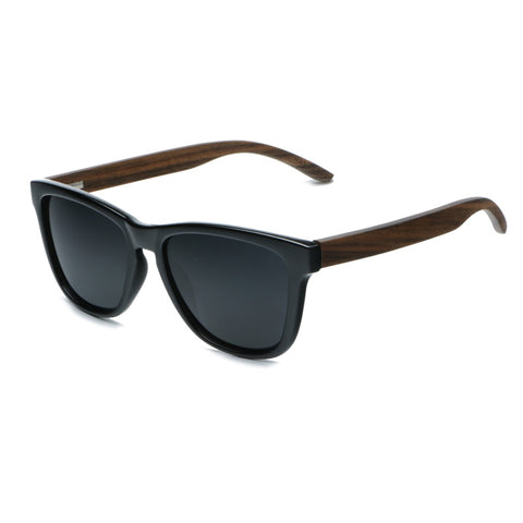 Swiss Walnut Wooden Polarized Sunglasses For Men