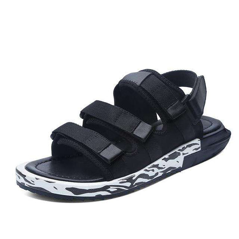 Breathable Hook & Loop Casual Beach Sandals For Men