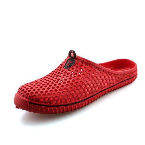 Breathable Soft Casual Slip-On Blue Sandals For Men