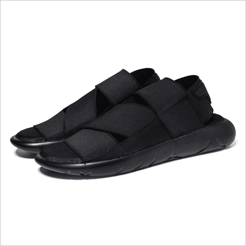 Men's Stretch Fabric Open Toed Sandals