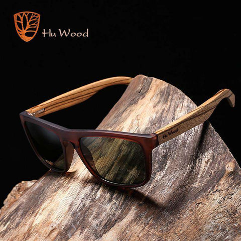 Bamboo Polarized Sunglasses Wooden For Women