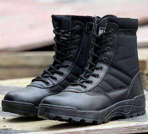 Men's Desert Camouflage Military Tactical Combat Boots