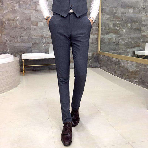 Men's Formal Slim Fit Dress Pants