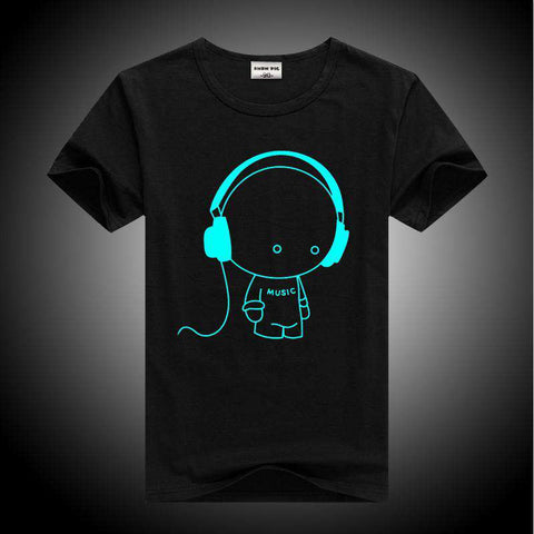 Luminous Short Sleeves Kids T-Shirt