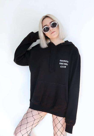Broken Dreams Club Reflective Unisex hoody