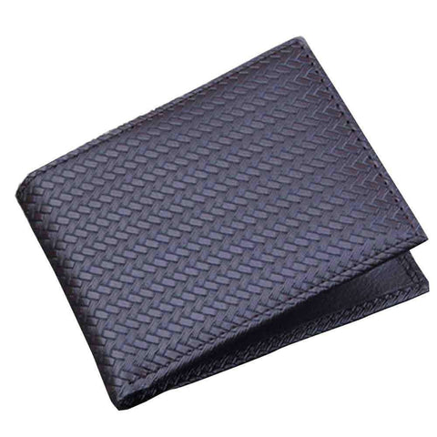 Bi-fold Business Wallet in Black Leather