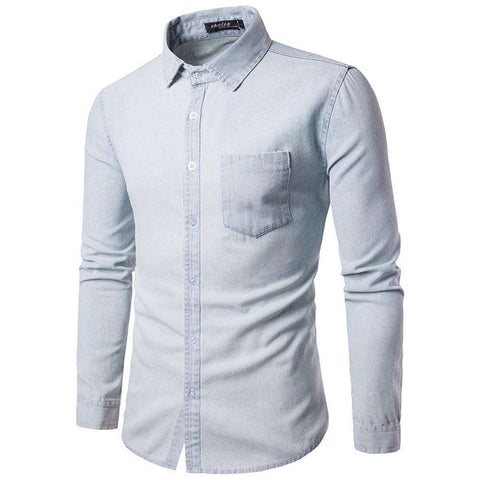 Business Casual Cowboy Long Sleeve Shirt